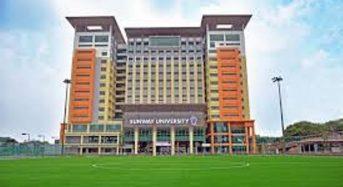 Jeffrey Cheah Foundation Community Scholarship at Sunway University in Malaysia, 2018