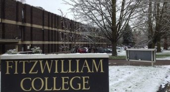 Fitzwilliam College Fully- moneyed Masters Studentship in UK, 2018