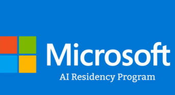 2018 Microsoft AI Residency Program for Researchers and Engineers in Redmond, UK