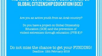 UNESCO Arab Youth Project Competition on Global Citizenship Education (GCED), 2018