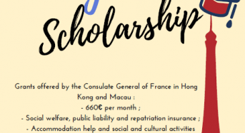 Alexandre Yersin Excellence Scholarships for Master Degree Programme in France, 2018
