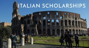 Italian Government MAECI Scholarships for Foreign and Italian Students in Italy, 2018-2019