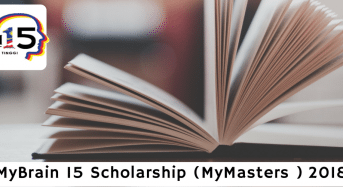 MyMaster15Scholarships for Malaysian Citizens to Study Abroad, 2018
