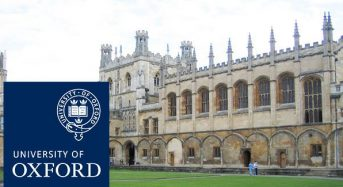 THIS Institute Postdoctoral Fellowships for International Students at University of Oxford in UK, 2018
