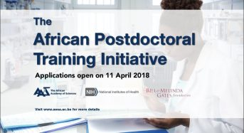 African Academy of Sciences African Postdoctoral Training Initiative Fellowship Programme, 2018