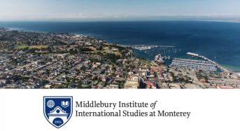 Master Scholarships for US and International Students at MIIS, 2018