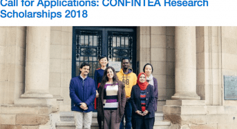 UNESCO Institute for Lifelong Learning CONFINTEA Research Scholarships in Germany, 2018