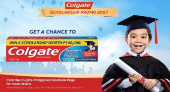 5000 Colgate-PalmoliveScholarship Promo for Filipino Citizens in Philippines, 2018