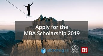 Full Tuition Executive MBA Scholarship at Stockholm School of Economics in Sweden, 2019