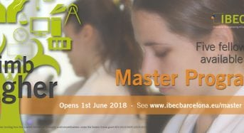 IBEC Master Fellowships for International Students in Spain, 2018