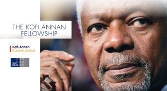 Kofi Annan Business School Foundation Master Fellowships for Developing Countries in Germany, 2018