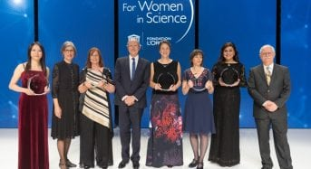 L'Or éal-UNESCO for Women in Science Awards for Female Researchers, 2019