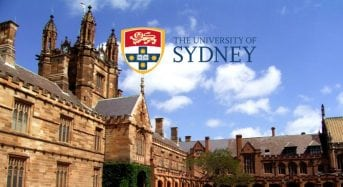 University of Sydney Postdoctoral Research Fellowships for International Students in Australia, 2019