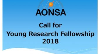 AONSA Young Research Fellowship for Young Scientists in the Asia-OceaniaRegion, 2019