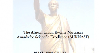 African Union Kwame Nkrumah Awards for Scientific Excellence (AUKNASE) in Africa, 2018