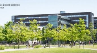 Copenhagen Business School PhD Scholarship for International Students in Denmark, 2018