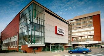 International PhD Studentship for College Students at University of Salford in UK, 2018