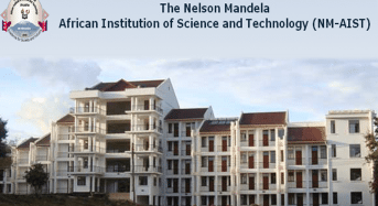 PhD Scholarships at Nelson Mandela African Institution of Science and Technology in Tanzania, 2018