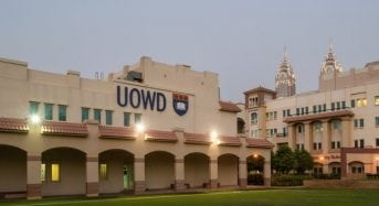 UOWD Academic Merit Postgraduate Scholarship for International Students in UAE, 2018