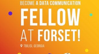 Data Communication YearLong Fellowship at ForSet in Georgia, Tbilisi, 2019