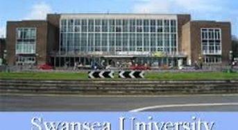 Fully Funded Swansea University and EPSRC PhD Scholarship at Swansea University in UK, 2018