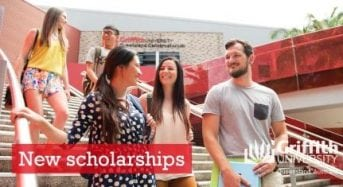Griffith Remarkable Scholarship for International Students in Australia, 2018