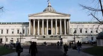 Fully Funded PhD Studentships for UK/EU Students at University College London in UK, 2019