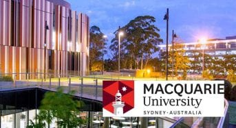 Vice-Chancellor's International Scholarships at Macquarie University in Australia, 2019