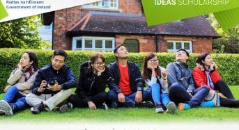 30 Full Government of Ireland IDEAS Master Scholarship Programme in Ireland, 2019-2020
