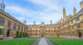 PhD Studentship in Music for EU and Non-EUStudents at University of Cambridge in UK, 2019
