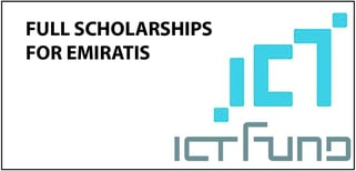 "ICT Fund ""BETHA Program"" Undergraduate and Postgraduate Scholarships for UAE Citizens, 2019"