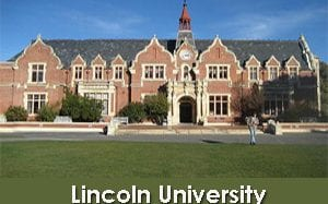 Lincoln University Struthers Scholarship for Postgraduate Degree in New Zealand, 2019