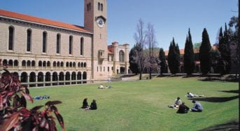 University of Western Australia International Achievement Scholarship in Australia, 2019