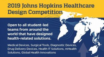 Johns Hopkins Healthcare Design Competition for International Students in USA, 2019