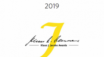 Klaus J. Jacobs Research Prize for International Applicants in Switzerland, 2019