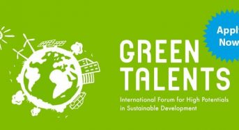 DAAD Green Talents Competition for International Students in Germany