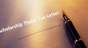 How To Write Scholarship Thank You Letter