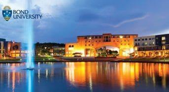 India Excellence Scholarship at Bond University in Australia, 2019