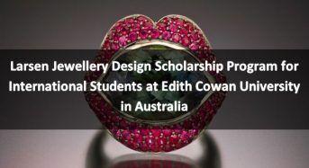 Larsen Jewellery Design program for International Students in Australia