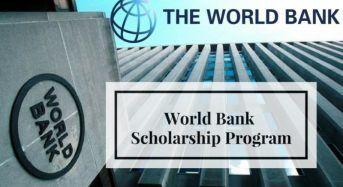 Robert S. McNamara Fellowships Program for International Students