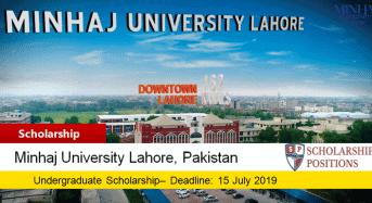 Minhaj University Lahore DR. Tahir Ul Qadri merit awards in Pakistan, 2019