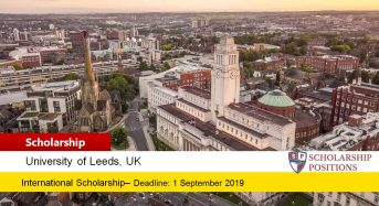 Head of School Excellence funding for International Students in UK, 2019