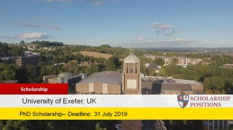 MRes Economics PhD Positionsfor International Students in UK, 2019
