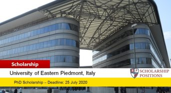 PhD funding for Non-ItalianStudents in Italy, 2019