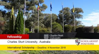 Charles Sturt Regional International award in Australia, 2020