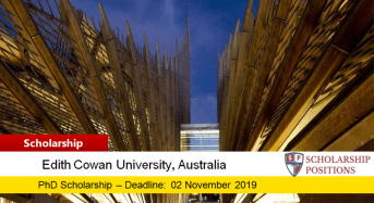 ECU Nursing & Midwifery PhD Positionsfor International Students in Australia, 2019