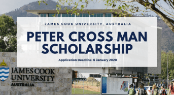 James Cook University Peter Crossman funding for Australian and New Zealand Citizen