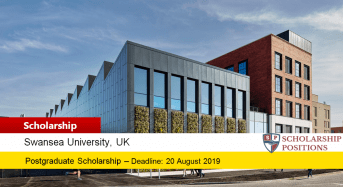 Swansea University Ospreys Rugby Postgraduate Scholarship in the UK 2019