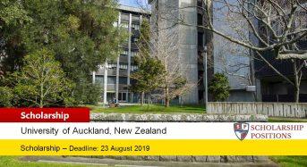 University of Auckland Kupe Leadership Scholarship in New Zealand