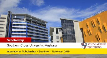 Vice Chancellor's International Diversification Scholarship at Southern Cross University